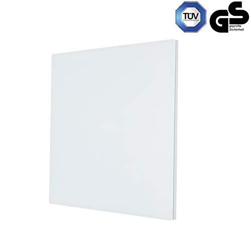 Infrarot-Heizung Heiz-Paneel 100W 50x32cm Elektroheizung Glas Panel Weiß kaufen  Bild 1*