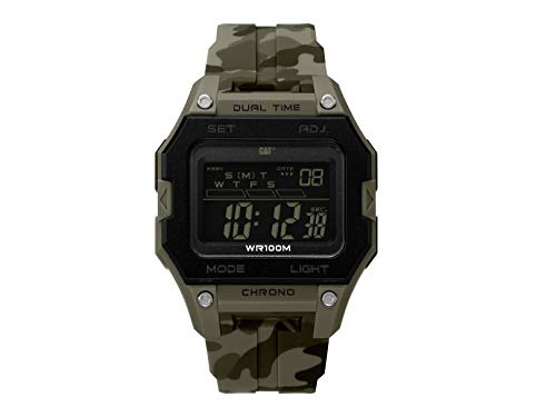 Reloj Digital Caterpillar OF14728148 Caballero Camuflajeado