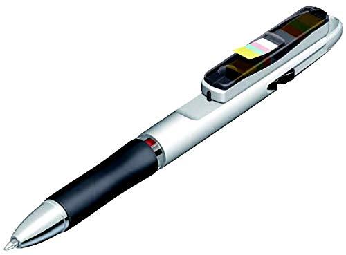 マキシーズ ひっぱる! ふせんペン 5本 セット 0.7mm 黒 赤 2色ペン 付箋 インデックス ボールペン RF-201