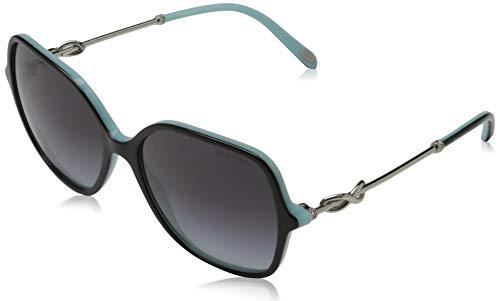 Tiffany & Co. 0TY4145B 80553C 57 Gafas de sol, Negro (Black/Blue/Greygradient), Mujer