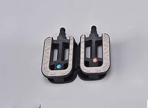 LIFELEADS 9/16 Bike Pedals for Replacement Bicycles/Unicycle Accessory,Bicycles Platform Flat Pedal with Anti-Slip Spike