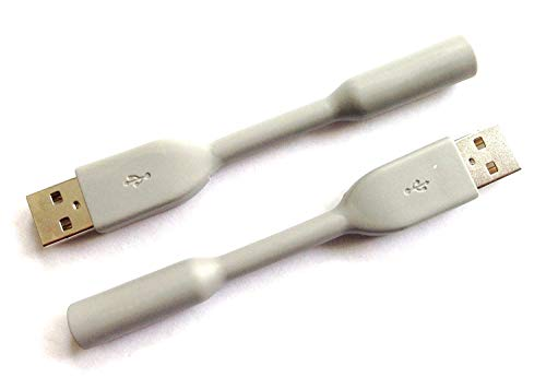 2 Charging Cables Compatible with Jawbone UP24 UP-24 ONLY Version...