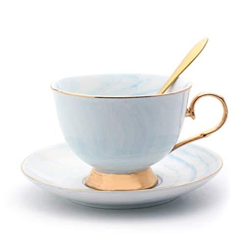 Jourbon Cappuccino Tassen Dickwandig Kaffeebecher Marmor Aus Porzellan In Pastell Grauer Für Hochzeit Valentinstag Jubiläum Und Weihnachten