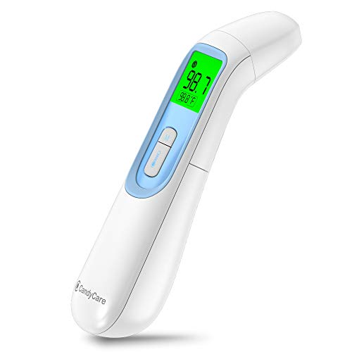 CandyCare Smart Infrared Thermometer with LCD...