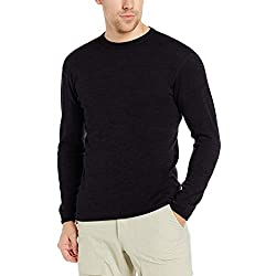 Minus33 Merino Wool 705 Chocorua Men's Midweight Crew - Anti Odor NO Itch Renewable Fabric