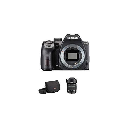 Pentax K70 Spiegelreflexkamera + Objektiv 18-55 mm WR + Tasche