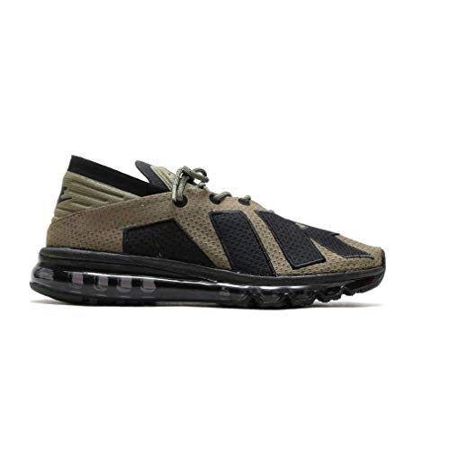 Nike Herren Air Max Flair olivgrün Laufschuhe 942236 201 - Schwarz, 39