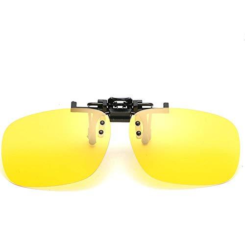 Gafas de Sol Sunglasses Gafas De Sol De Conducción Polarizadas Clip HombresGafas De Sol De DiseñadorLente Visión Nocturna Retro Outdoor C5Nightvision