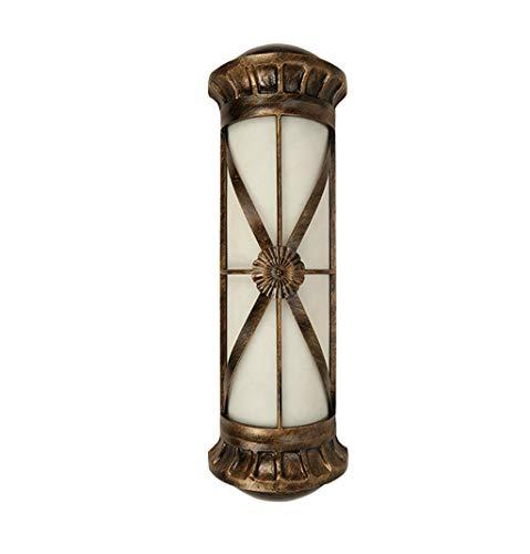 Chuen Lung wandlampen, grote buitenwandlampen, van messing, achterkant waterdicht, klassieke wandlamp voor Villa van Luxus.