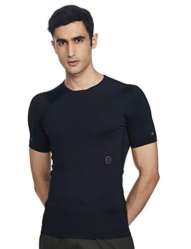 Under Armour hommes UA Rush T-shirt manches courtes, T-shirt de compression pour hommes avec technologie Rush, T-shirt de sport à coupe compression
