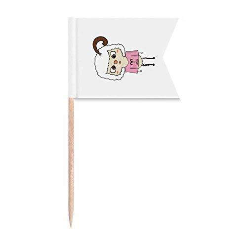 Sternbild Luck Tendency Widder Meteor UU Zahnstocher Flaggen Markierung für Party Kuchen Lebensmittel Käseplatte