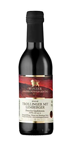 Württemberger Wein Winzer vom Weinsberger Tal Trollinger mit Lemberger QW halbtrocken (1 x 0.25 l)