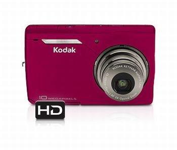 New Kodak Easyshare M1033 10 MP Digital Camera with 3xOptical Zoom (Red)