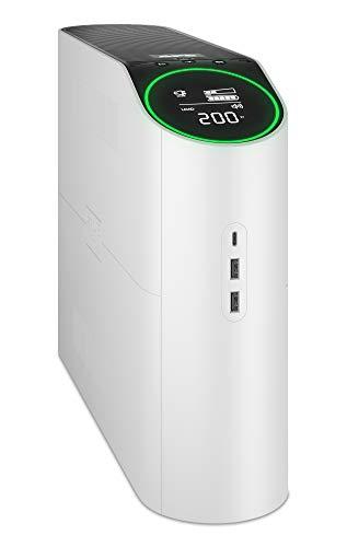 APC UPS for Gaming, 1500VA Sinewave UPS Battery Backup with AVR and (3) USB Charging Ports, BGM1500, Back-UPS Pro Uninterruptible Power Supply , Arctic