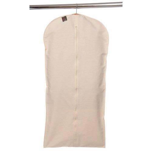 Caraselle 100% Natuurlijke Ongebleekte Katoenen Jurk Cover 128x60cm Made, Beige, 33.78x24.13x2.29 cm