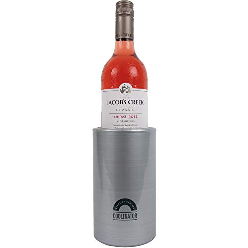 Coolenator Nr. 1 Coolster Pintflaschen- und Weinkühler – Kühlt Getränke aktiv für bis zu 4,5 Stunden – Platz für gerade Pintgläser, Pintflaschen, große Dosen, Weinflaschen und große Wasserflaschen