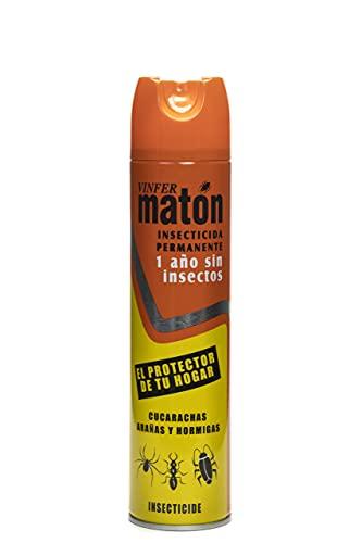 Vinfermatón - Insecticida Matón Residual Cucarachas y Hormigas Permanente, 400ml
