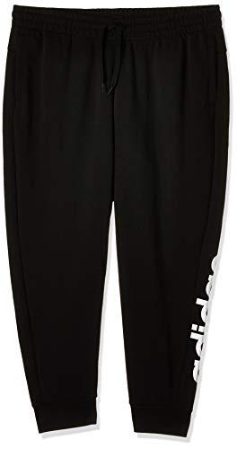 adidas Damen W E INC Pant Hose, Negro/Blanco, 1x