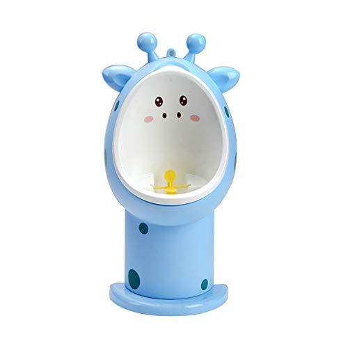 Apprentissage de la propreté Baby Small Toilet Boy Urinoir Mural Urinoir Urinoir Garçon Urine Pee Artefact Debout Urinoir Mural à Double Usage Librement réglable (Couleur : Bleu)
