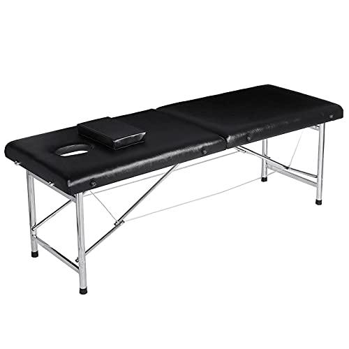 Xin Yan Table de Massage Aluminium Lit Cosmétique Kiné Table de Beauté Professionnel Pliante...