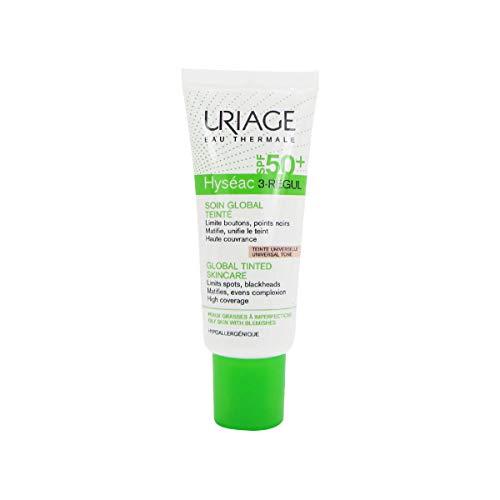 Uriage Hyseac 3-Regul - Trattamento globale tinto SPF50+, 40 ml