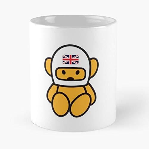 Ronnie March James Niki Prix Grand Cars Hunt Peterson Racing Lauda Hesketh Taza de café con Leche 11 oz