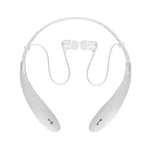 SuperSonic - Bluetooth Wireless Headphones with Mic, Bluetooth Earphones - White (IQ-127BT)