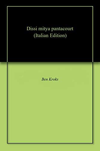 Dissi mitya pantacourt (Corsican Edition)