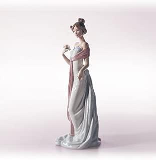 Lladro Figurine, 6366 Summer Infatuation, Girl with Flower