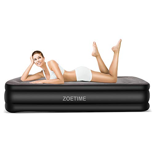 Zoetime Upgraded King Size Double Air Mattress Blow up Elevated Raised Airbed Inflatable Beds...