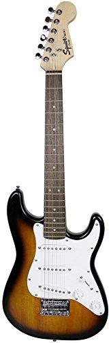 Squier by Fender Mini Strat Electric Guitar - Brown Sunburst