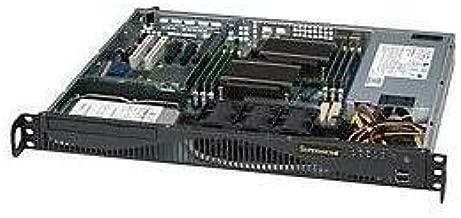 Supermicro 600 Watt Gold Level Certified 1U Rackmount Server Chassis (CSE-512F-600B)