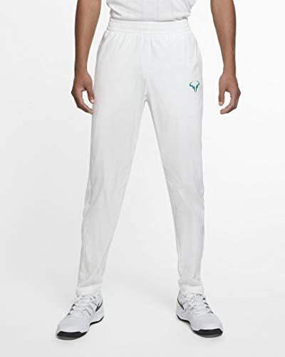 Nike Rafa - Pantalón deportivo para hombre (talla L), color blanco y verde