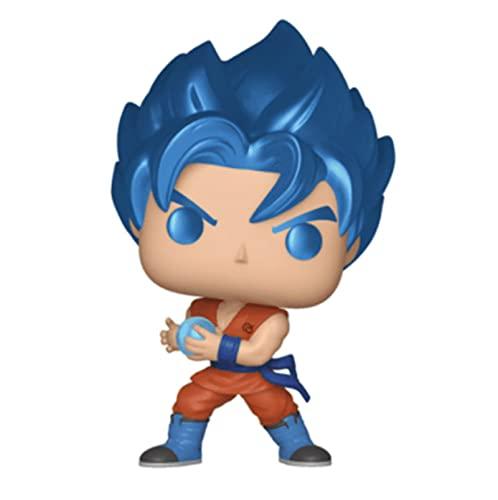Cartoon Anime Game Dragon Ball Series Pop Q Versión De Clay Super Ssgss Goku Kamehameha Figuras De...