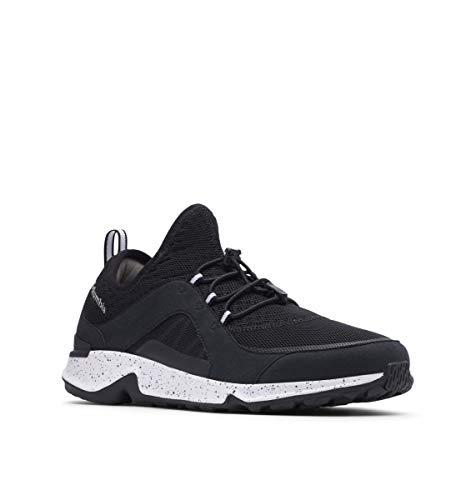 Columbia Zapatillas de senderismo Vitesse Slip para hombre, negro (Negro/Blanco), 40.5 EU