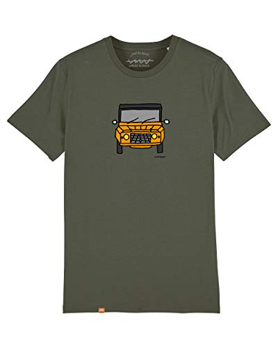 Cencibel Smart Casual Camiseta Callate La Boca Caqui Mehari Naranja (S)