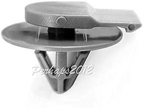 FidgetKute 30 Gray Nylon for Mini Cooper Moulding Clips 2002-On 07-13-2-757-821