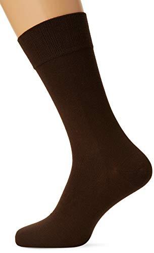 Nur Der Herren Bambus Komfort Socken, Braun (braun), 43/46 (43-46)