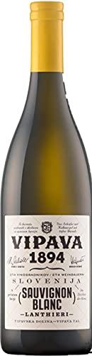 Vipava 1894 Weißwein Lanthieri Sauvignon Blanc 2017, Weißwein trocken (fruchtig frisch), Qualitätswein ZGP, von Hand gelesen (0,75 l)