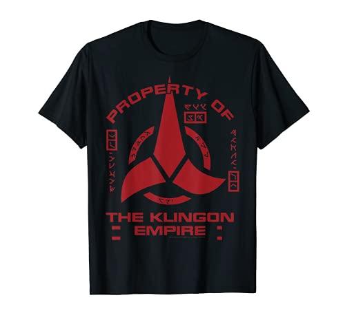 Star Trek Discovery Klingon Empire Red Logo Graphic T-Shirt