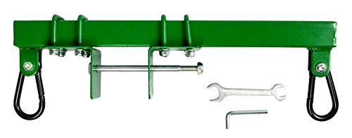 Swurfer Swingset Conversion Bracket - No Tree, No Problem, Convert Your Swingset to a Swurfset, Heavy Duty Horse Glider Bracket for Swing Set Attachment (Green)