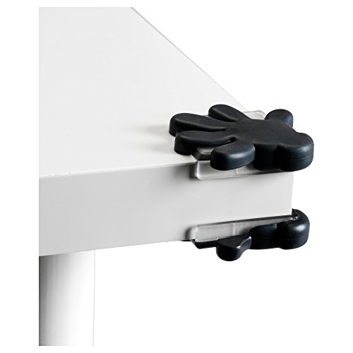 Ikea Patrull Corner Bumper, Black, Kids Sharp Corner Protector