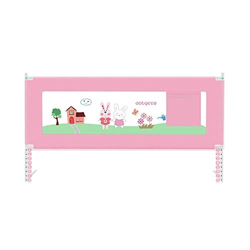 Find Bargain MSJIAO Crib Guardrail,Anti-Fall Bed Guardrail for Infants and Children Vertical Lift Sa...