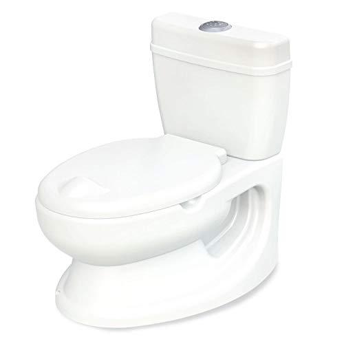 babyGO Potty für Kleinkinder - Töpfchen für Kinder - Realistische Kindertoilette mit Spühlgeräusch - ideal als erste Toilette für Ihr Kleinkind