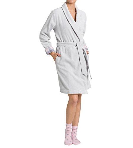 Triumph Damen Hausmantel Robes AW16 Robe Long Xmas, Gr. 48 (Herstellergröße: XL (48/50)), Mehrfarbig (PLATINO QS)