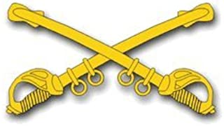 MilitaryBest United States Army Cavalry Insignia Decal Sticker 3.8