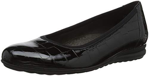 Gabor Shoes Comfort Sport, Ballerines Femme, Noir (Schwarz 87), 42 EU