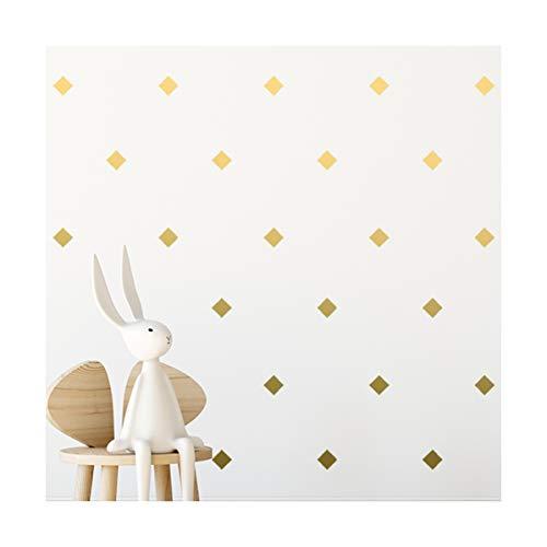 StickerDeen | Adhesivo decorativo con forma de patrón cuadrado para ventana, muebles,...