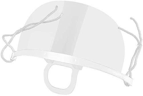 Catering-Maske 10-teilige Anti-Fog-Sprühmaske aus klarem Kunststoff für Speichelkoch Spit Food Hotel Kitchen Restaurant Supply