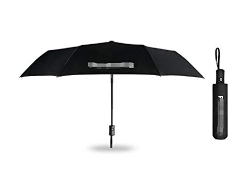 FENGFENG Sun Can Coche Totalmente Plegable Paraguas Plegable